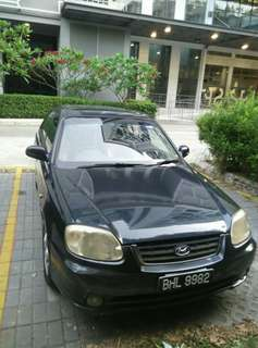 Hyundai accent 2004 auto 1500cc
