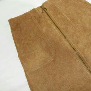Charm skirt brown