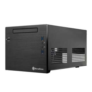 SILVERSTONE SST-SG08 Black Mini-ITX Casing with 600W 80+ Bronze PSU