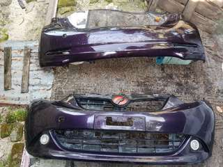 Bumper Myvi 1.3 Original Purple