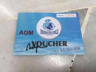 Underwater World Langkawi Admission Ticket
