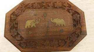 Traditional wooden multipurpose box