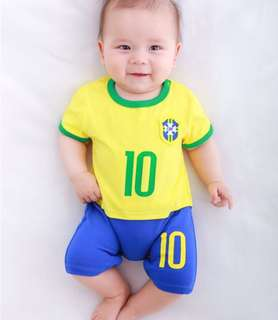 World Cup baby jumpsuit