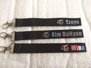 Twice Keychain
