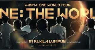 (WTB) wanna one ticket