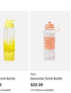 Cotton On | Typo Water bottle | Tumbler