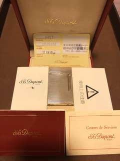 S.T. Dupont L2 Lighter 極完美開蓋聲 RARE!!!