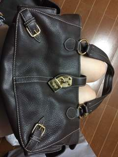 Hand bag leather
