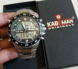 Jam tangan pria KADEMAN