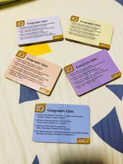 knowledge enrichment play cards