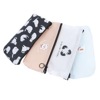 🐈BN INSTOCKS Cute Adorable Silicone Cats Translucent Pencil Case Bag