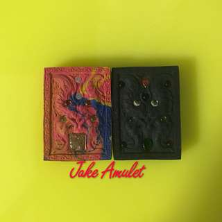 Kruba Krissana Butterfly Amulet 1pc 55- 2pc 100