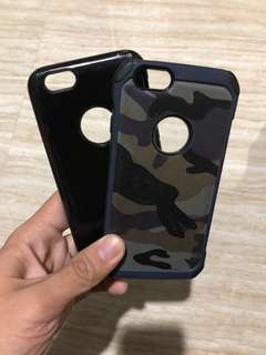 iPhone 6 Phone Cases Camouflage & Black (Shockproof)