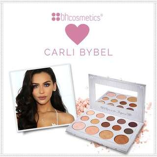 Bh Cosmetics Carli Bybel 14 Colour Eyeshadow and Highlighter Palette