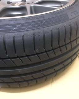 CSC5 Continental Tyre - ContiSportContact5