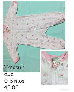 Preloved Frogsuits/Sleepsack/Swaddle