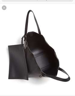 Kendal and Kylie Large black tote