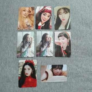 I.O.I , Wanna One , Red Velvet Official Photocard