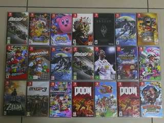 NEW/USED SWITCH GAMES