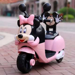 New Minnie Mouse Electric Motorcycle Toy Motor for Kids