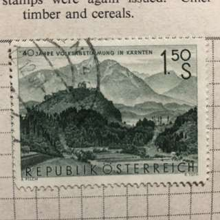 Stamp - Republik Osterreich / Austria 1960 - Griffen, Carinthia