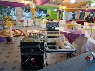 Sound system for rental