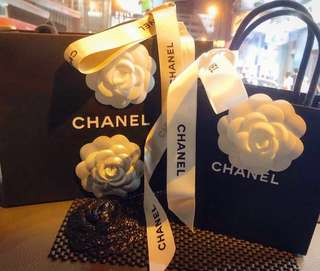 100%Real Chanel Special Camelia flower