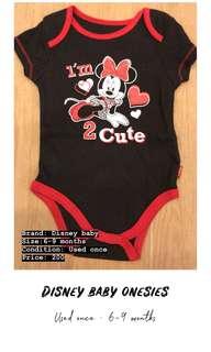 Disney baby onesies