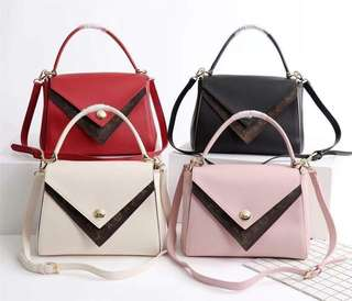 LV Double V Top Handles Collection
