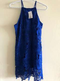Rebellion Blue Lace dress