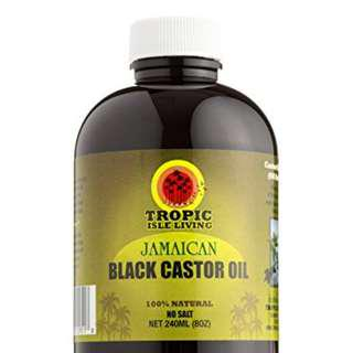 Best Selling Tropic Isle Living Jamaican Black Castor Oil 10ml - Repacked Bottle