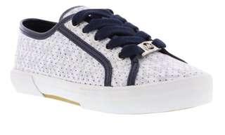 Brand New Michael Kors White Navy Sneakers