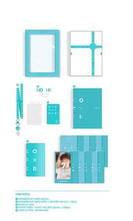 WANNA ONE 1기 FANKIT TICKET HOLDER