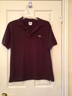 LaCosta Dark Brown Sport Shirt Size M  RN 87651