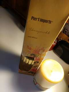 Pier1 Candle and Diffuser