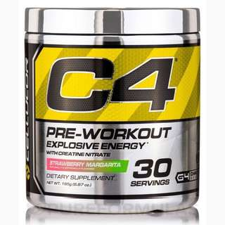 C4 explosive energy pre workout