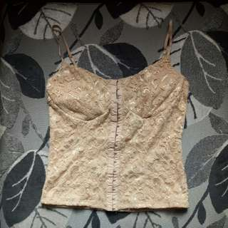 Charlotte Russe Corset Top