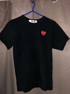 Commes Des Garçons Black T-shirt