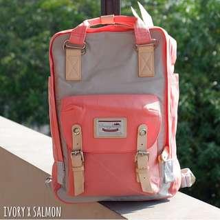 Doughnut macaron backpack