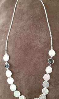 SALE ($18) New Necklace silver-plated