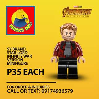 SY™ Star-Lord Infinity War Minifigures