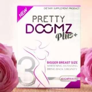 #67 Pretty Doomz Plus+ Breast Enhancing, Whitening