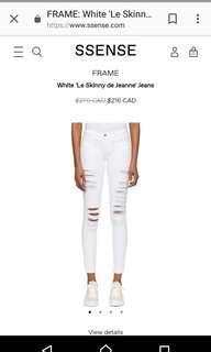 Aritzia Frame jeans size 26