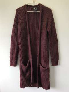 All About Eve Chunky Knit Cardigan