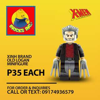 XINH™ Old Logan X-Men Minifigures