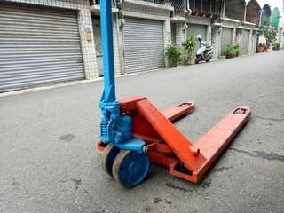 油壓拖板車