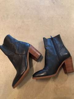 Aldo leather boots