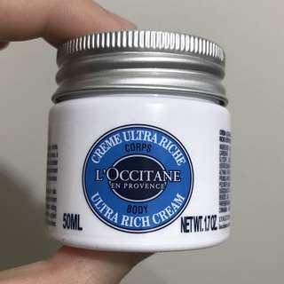 L'occitane body ultra rich cream 50ml