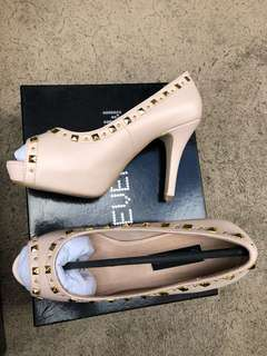 Forever New blush pink heels size 6/37 brand new in box
