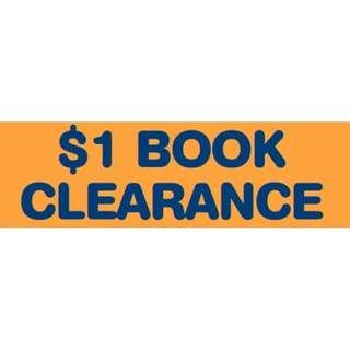 $1 per book Clearance Sale